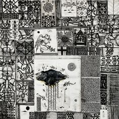John Pule New Zealand Art, Nz Art, Printmaking, Nativity, Collage, Quilts, Black And White, Abstract, Drawings
