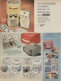 View Master Projector- it would get so hot, you could melt crayons on it.
