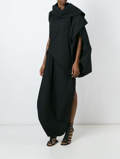 Rick Owens Draped Dress - Entrance - Farfetch.com