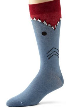 shark attack socks LOL... SHARK ATTACK ~ GIFT IDEAS THAT ARE SURE TO MAKE YOU SMILE (GAG GIFT OR PARTY THEME)