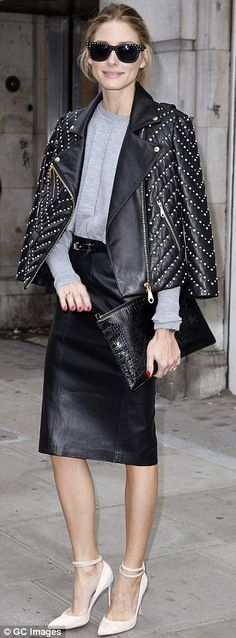 Poppy Delevingne and Olivia Palermo hit OSMAN and Anya Hindmarch shows #dailymail