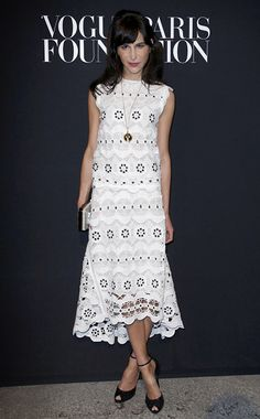 Get Graphic | Week of July 14, 2014 | WHO: Caroline Sieber WHERE: Vogue Fashion Gala, Paris WHEN: July 9, 2014