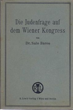 The Jewish Question at the Congress of Vienna
