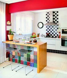 47 Cozinhas decoradas para todos os gostos - Blog de Decoração - Reciclar e Decorar