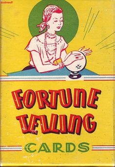 Vintage 1940's Fortune Telling card game by dustmeoff on Etsy, $22.00
