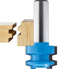 "Rockler High Drawer Lock Router Bit - 1-1/16"" Dia x 3/4"" H x 1/2"" Shank"