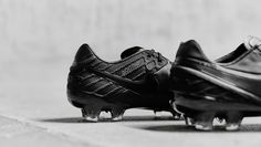 "Nike Tiempo 6 ""Black/Black/Volt"""