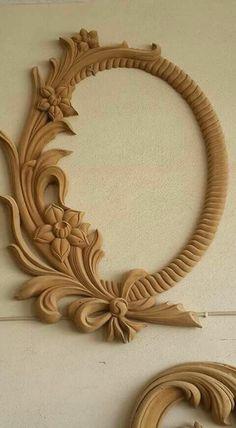 Front Door Design Wood, Wooden Door Design, Wooden Art, Wooden Crafts, Wood Design, Wood Carving Designs, Wood Carving Patterns, Wood Carving Art, Chip Carving