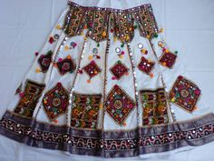 Navratri chaniya choli Designer Indian whice and Maroon Lace work Lehenga Choli Garba Dress, Navratri Dress, Indian Dresses, Indian Outfits, Dandiya Dress, Chaniya Choli Designer, Chanya Choli, Cheap Kids Clothes, Kids Clothing