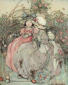 "Annie Urquhart (1879-1928) - ""Gossips"""