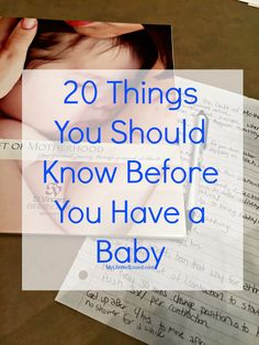 20 things you should