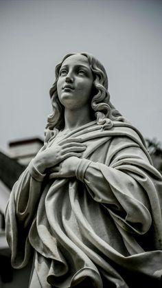 St Mary's of the Assumption Parish 46 Richmond Avenue Deal, NJ 07723 Ancient Greek Sculpture, Greek Statues, Angel Statues, Catholic Art, Religious Art, Statue Tattoo, Roman Sculpture, Greek Art, Blessed Virgin Mary