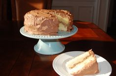 classic yellow butter cake (not from a box)