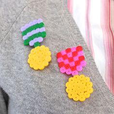 Hama bead medals