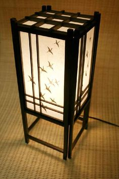 Cranes Lamp Price $39 Available in 4 finishes