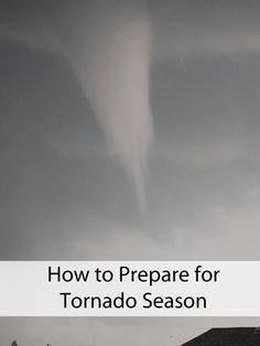 How to Prepare for Tornado Season