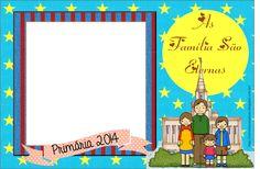 As Tontas Vão Ao Céu: Porta Retrato - As Famílias São Eternas (Primária ...