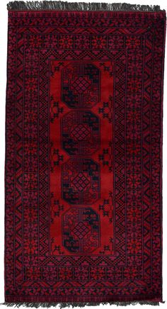 Red 6 x 4 Afghan Akhche Rug Small Rugs, Bohemian Rug, Area Rugs, Red, Oriental Rugs, Runners, Home Decor, Hallways, Rugs