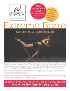 W. Rhythm Fitness Flyers
