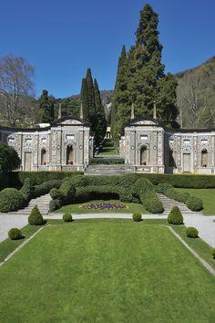 Villa d'Este, Lake Como, Italy.
