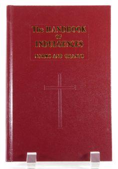 Handbook of Indulgences Norms and Grants 1991 Catholic Book Publishing HC EUC 20565 by JacksonsMarket on Etsy
