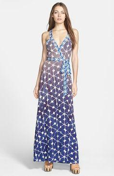 pretty maxi dress - love the print