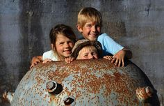 One of our favorite camp spots - and we had it to ourselves was cape Otway lighthouse on the great ocean road. Gorgeous lighthouse where we got to meet one of the few original lighthouse keepers. Rolling grassy plains and gorgeous views - and a dinosaur exhibition was on while we were there! This is a pic of the kids in an old bomb casing !! #travelaustraliawithkids #roadtrip #family #capeotwaylighthouse #greatoceanroad #victoria #discovervictoria #tourismvictoria by fiftytoeswalkabout