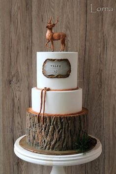 Hunter cake.. by Lorna