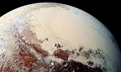 How Pluto's heart turned to ICE #DailyMail