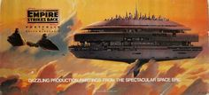 The Empire Strikes Back Portfolio by Ralph McQuarrie, beautiful art prints 1980, First Edition