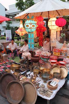 Colorful Chang Mai Sunday Market