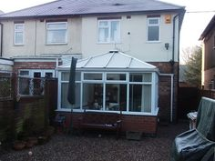 Transform your conservatory with a Tiled Roof Replacement from Abbey & Burton Glass. Warm Roof, Roofing Systems, Conservatory, Shed, Outdoor Structures, Winter Garden, Greenhouses, Green Houses, Barns
