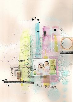 #papercraft #scrapbook #layout. This is gorgeous.....lililali