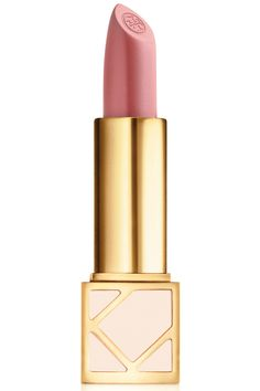 The most flattering pink-nude (and the designer's signature shade) comes in a limited edition case and 20% of the proceeds go to the BCRF. Tory Burch Lip Color in Ramble On Rose, $32, bloomingdales.com.   - HarpersBAZAAR.com