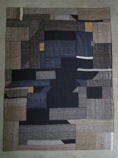 silk patchwork blanket