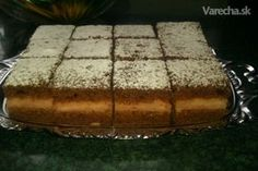 Punčový perník Tiramisu, Food To Make, Gingerbread, Punk, Treats, Cake, Sweet, Ethnic Recipes, Ds