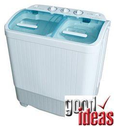 2 5kg Mini Twin Tub Portable Sharp Washing Machine With