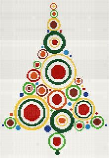 Christmas tree cross stitch kits