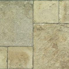 Innovations Tuscan Stone Sand Laminate Flooring - 5 in. x 7 in. Take Home Sample-IN-683351 - The Home Depot