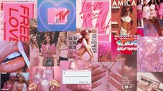 aesthetic pink laptop backgrounds collage macbook desktop soft tula moulcy notebook iphone wallpapers computer stickers