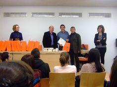Un momento de la entrega de premios