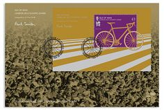 Paul Smith: London Olympic and Paralympic Stamps in collaboration with the Isle Of Man Post Office. Long Time Friends, Its Nice That, First Day Covers, Isle Of Man, Stamp Collecting, Paul Smith, Olympics, Stationery, Graphic Design