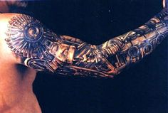 Biomechanical Tattoo Designs, Tattoo Ideas For Men Arm Biomecanic