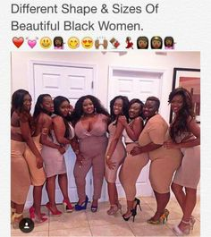 Beautiful black women diffrent shapes and sizes ❣️ My Black Is Beautiful, Black Love, Beautiful People, Beautiful Kids, Beautiful Images, Black Girls Rock, Black Girl Magic, Beyonce, Afro