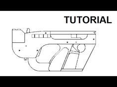 How to make EASY!!! Glock 17 [rubber band gun] tutorial