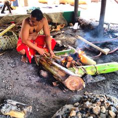 Cooking with Imu Polynesian Cultural Center