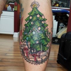 Get in the Christmas spirit! 65 Christmas tattoo ideas that you can get during your next ink sesh. Christmas Tattoo, Best Tattoos For Women, First Tattoo, Cool Tattoos, Tatoos, Tattoo Designs, Tattoo Ideas, Tatting, Body Art