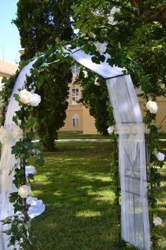 Svatební oblouk (brána) - - Obřad
