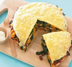 Vegetable stack 'pie' | Healthy Food Guide