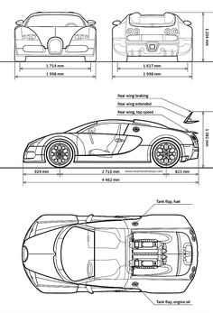 Bugatti's official website: the brand that combines an artistic approach with superior technical innovations in the world of super sports cars. Bugatti Veyron, Bugatti Cars, Car Design Sketch, Car Sketch, Bugatti Models, Ford Models, Car Drawings, Ferrari Laferrari, Electric Cars